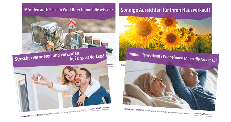 Immobilien Akquise Flyer