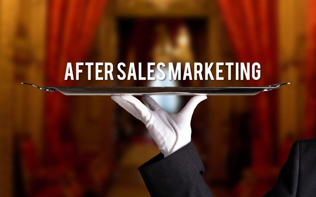 After Sales Marketing: Kunden binden